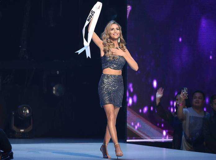 Angela Ponce, Miss Espanha 2018. Foto: reprodução E!Online