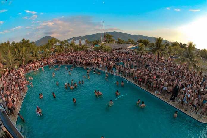Pool Party no primeiro final de semana do ano comemora o verão da Cidade Maravilhosa