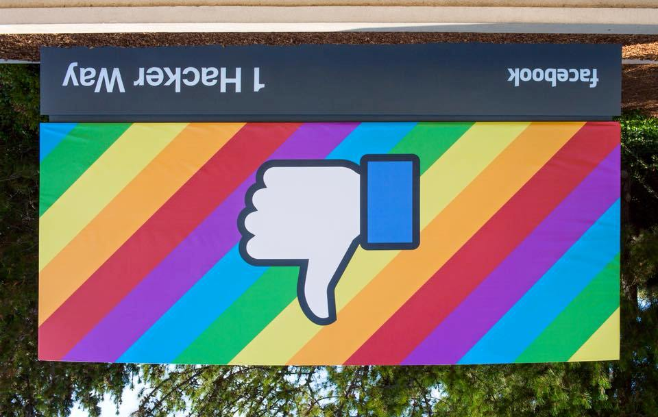 Facebook Brasil começa a bloquear aleatoriamente conteúdo LGBT+ de sua plataforma