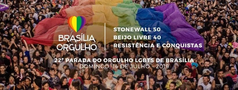Parada do Orgulho LGBT de Brasília divulga tema e data