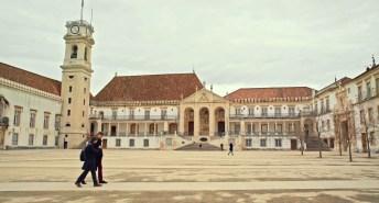 Cena do longa em Coimbra (Portugal)