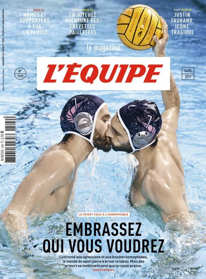 Capa do especial deste final de semana do L'Equipe