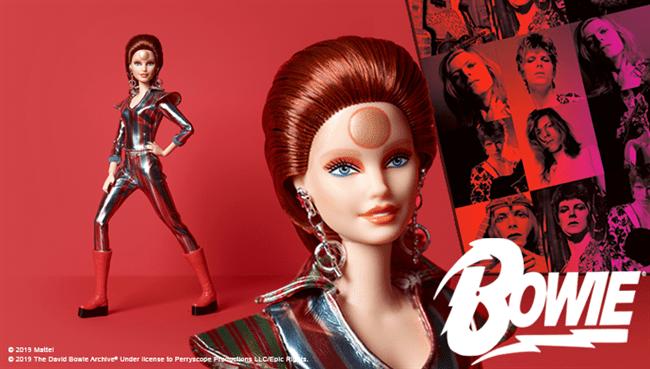 Mattel anuncia Barbie Bowie para o 50º aniversário de 'Space Oddity'
