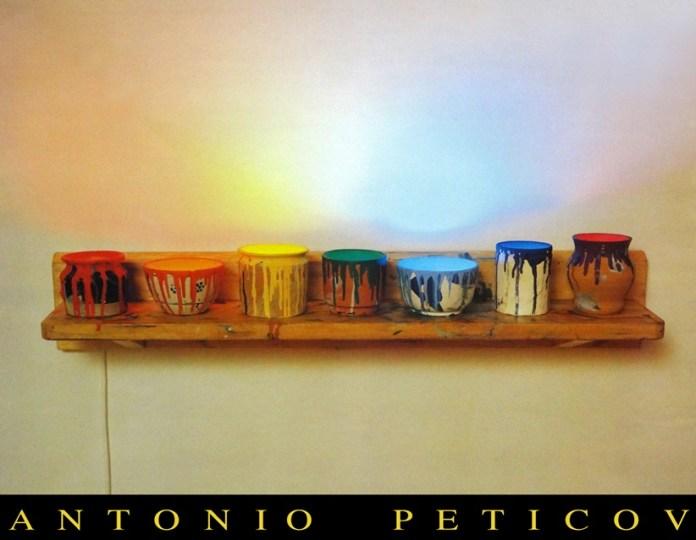 POURING. Madeira, mármore, aço e neon 70X70X50cm. 1981