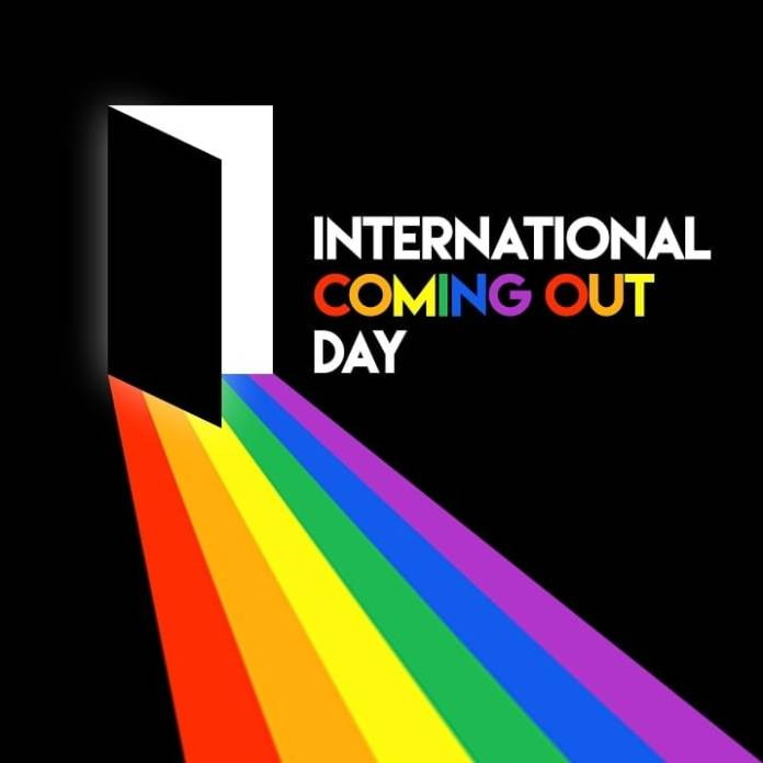 11 de outubro: The Coming Out Day aka Dia de Sair do Armário