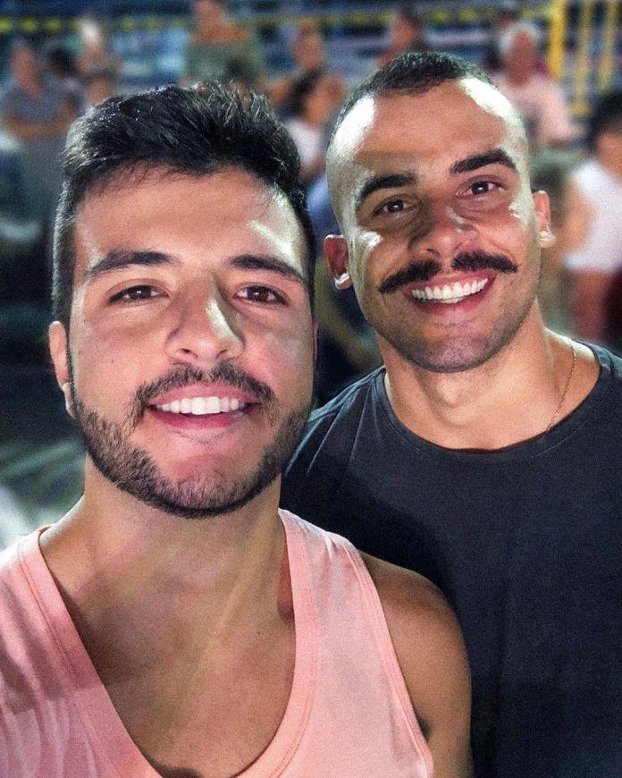 Matheus Ribeiro e Yuri Piazzarollo. Foto: reprodução/Instagram