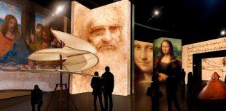 MIS homenageia Da Vinci com experiências imersivas e interativas