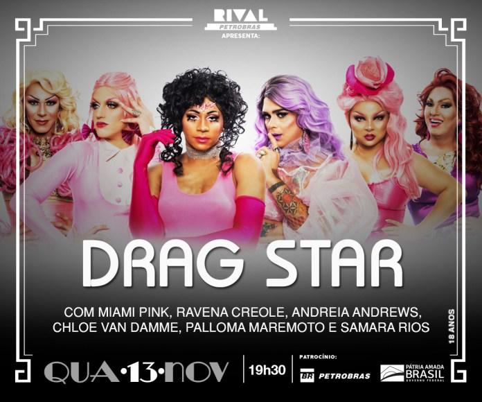 Flyer do Drag Star