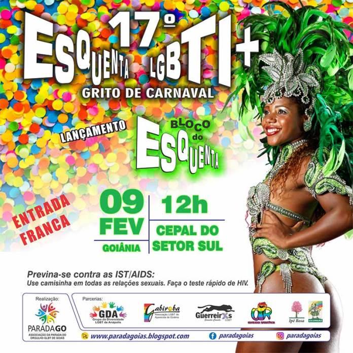 Carnaval 2020 - Bloco do Esquenta LGBT