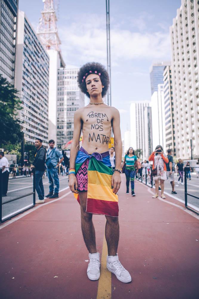 Museu da Diversidade Sexual exibe trajetória visual da Parada LGBT+ de São Paulo