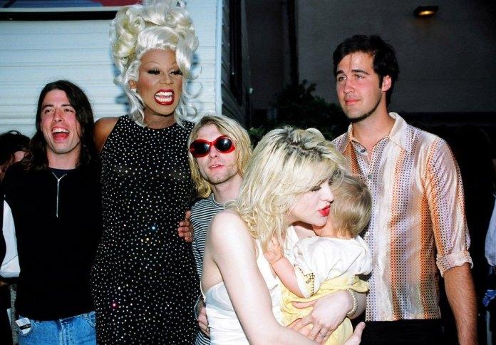 RuPaul e Nirvana: conheça a história por trás da foto no MTV Awards