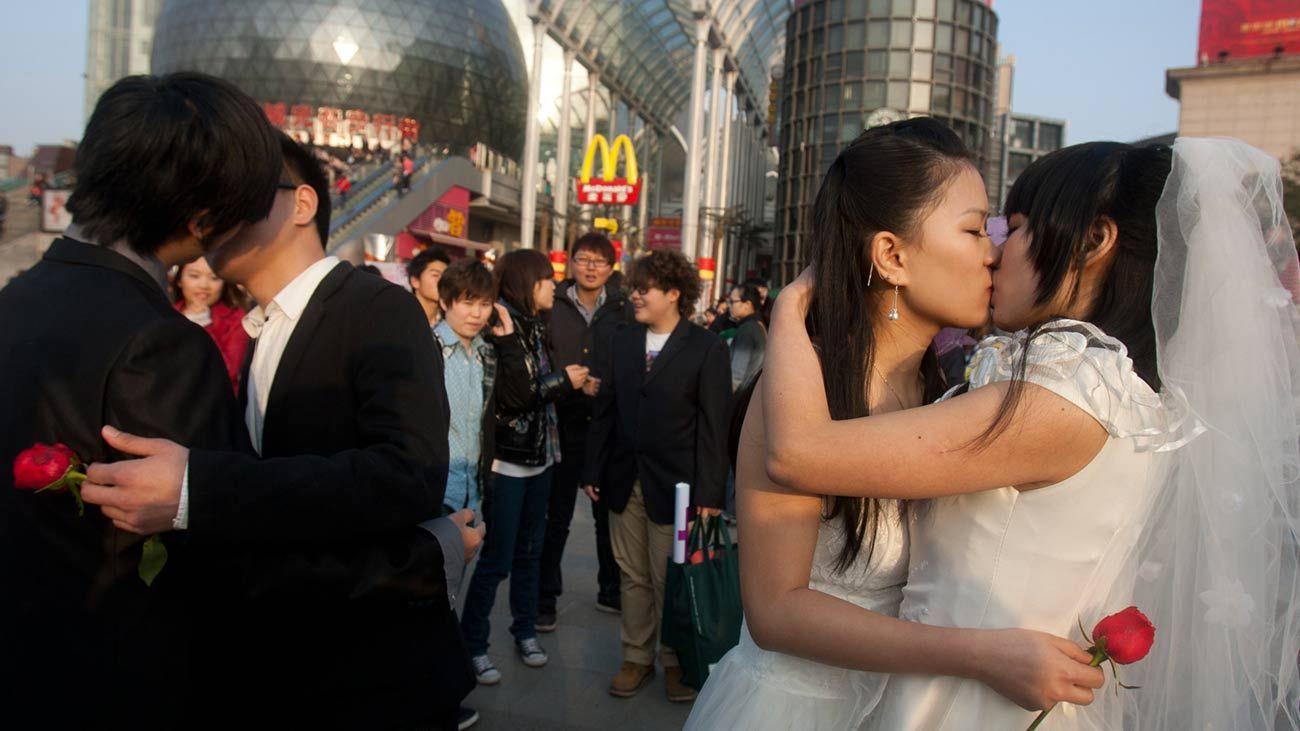 Comunidade LGBTQ+ exige que casais do mesmo sexo sejam contados no censo da China