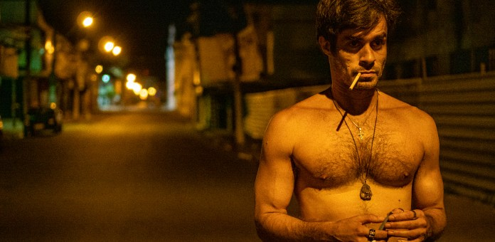 Erom Cordeiro plays a male prostitute in