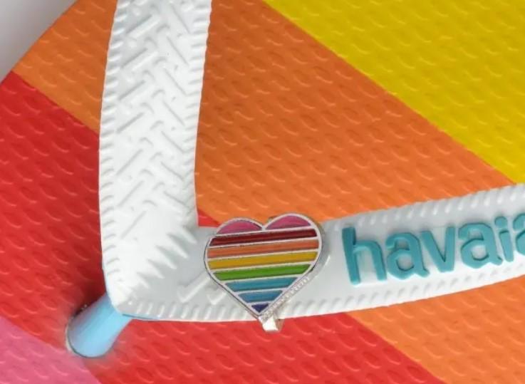 Com linha Pride, Havaianas destina R$ 260 mil a causas LGBTQIA+