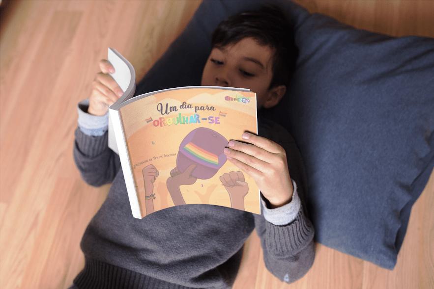 Psicólogo lança livro infantil com glossário LGBTQIA+