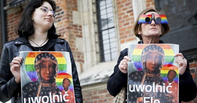 Tribunal polonês absolve ativistas LGBT acusadas de ofender sentimentos religiosos