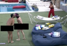 Para comemorar permanência no BBB21, Fiuk e Gil ficam pelados e dão selinho