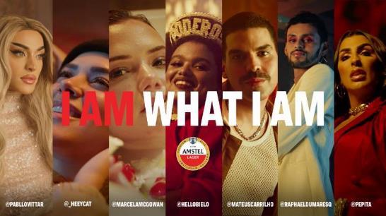 Pabllo Vittar, Pepita e Mateus Carrilho estrelam nova campanha da Amstel - Divulgação