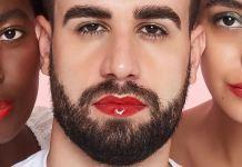 Marca brasileira lança gloss labial com campanha protagonizada por homem