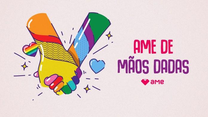 Ame Digital celebra Mês do Orgulho com campanha para incentivar doação para ONGs LGBTQIA+