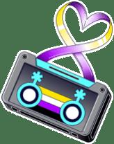 _Casette Sticker