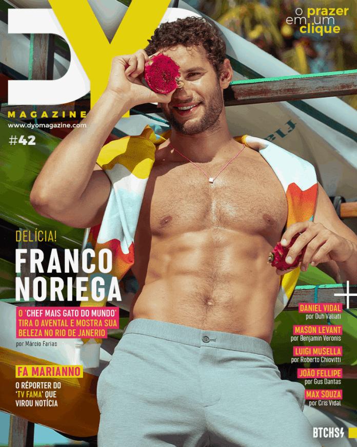 Franco Noriega é capa da DYO Magazine