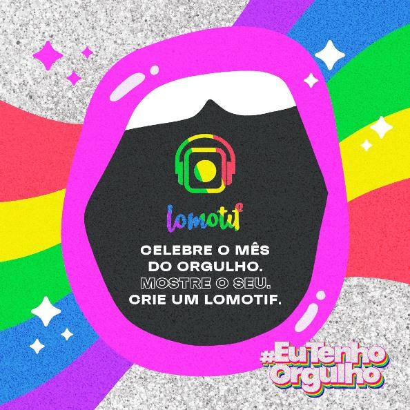 Lomotif homenageia a causa LGBTQIA+ no mês em que se comemora o Dia Internacional do Orgulho Gay