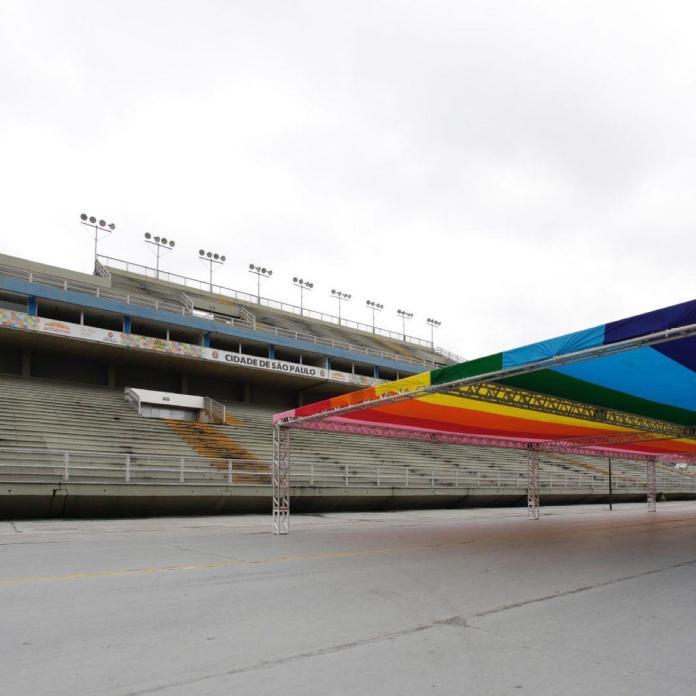 Sambódromo do Anhembi ganha bandeira LGBT