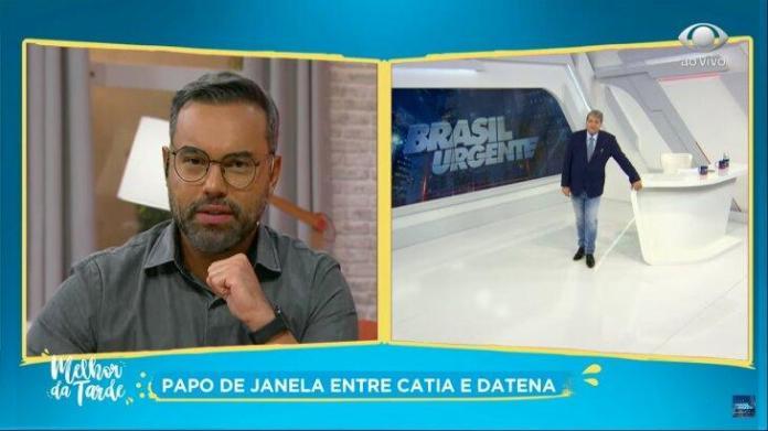 """Datena tira jornalista do armário ao vivo: """"Você é gay ou é bi?"""""""