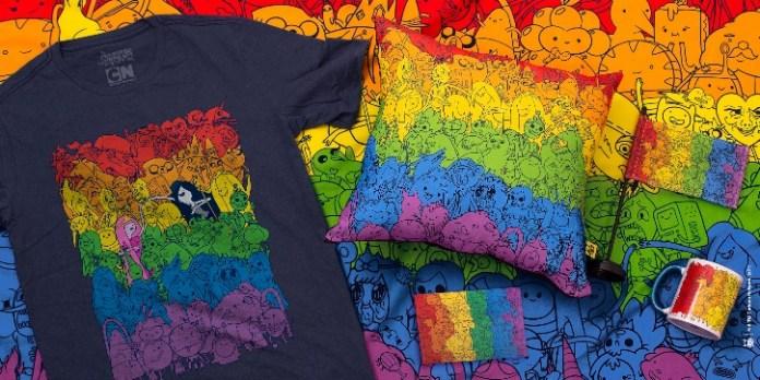 CNSHOP, a loja oficial do Cartoon Network, lança Coleção Pride - Divulgação
