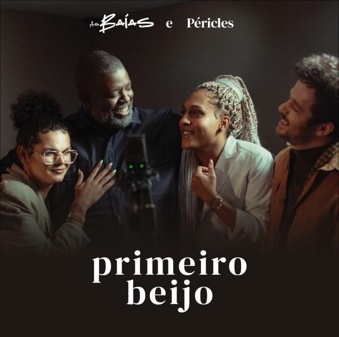 """""""As Baías"""" lançam pagode romântico com participação de Péricles, ex-Exaltasamba"""