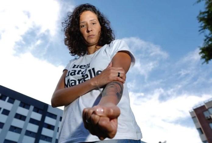 Mônica Benício vai à delegacia denunciar lesbofobia durante discursos na Câmara