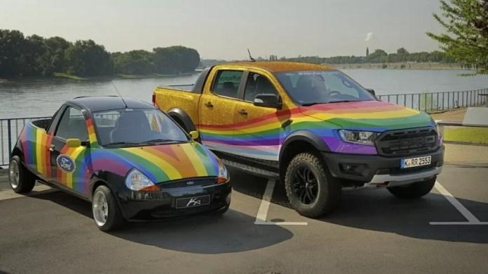 """Ford cria picape Ranger Raptor """"muito gay"""" para protestar contra discurso homofóbico"""