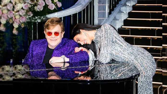 """Elton John e Dua Lipa lançam videoclipe de """"Cold Heart"""""""