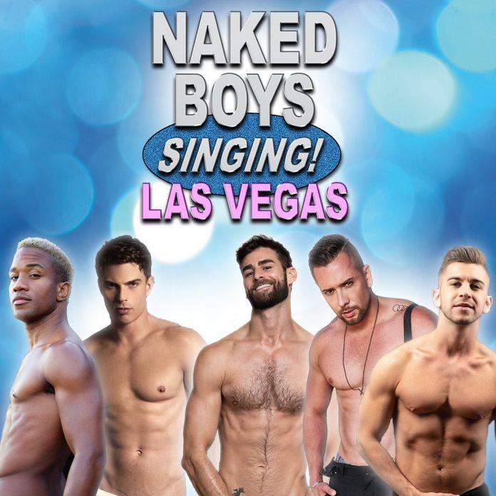 """Novo elenco de """"Naked Boys Singing"""", em Las Vegas, foi anunciado nesta quarta - Divulgação"""
