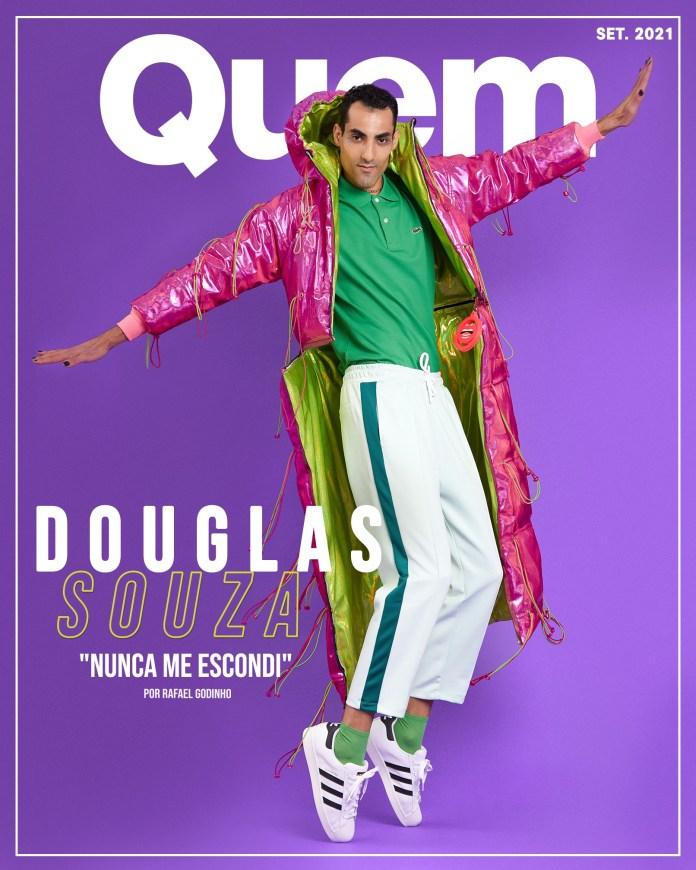 Douglas Souza é capa da Revista Quem