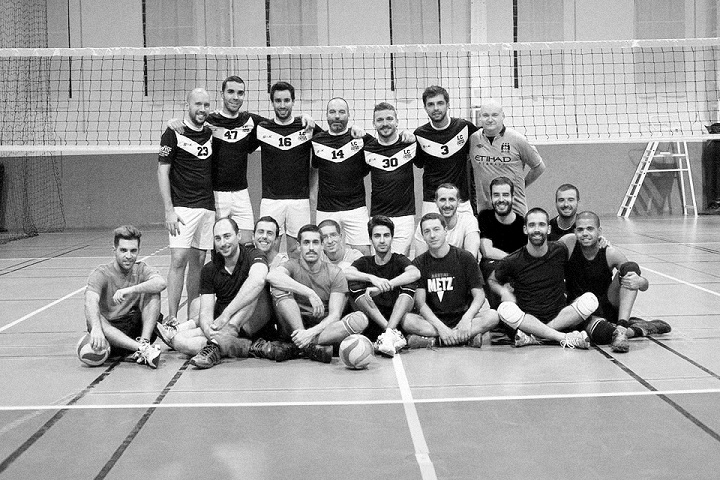 from Dario gay lgbt volleyball league
