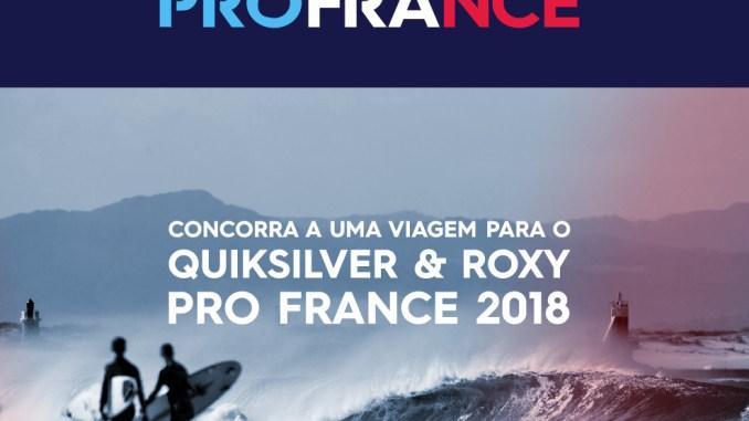 Quiksilver e Roxy levam cinco sortudos para a França