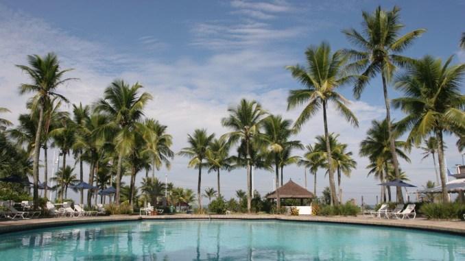 Vista da piscina principal. Foto: divulgação golden hour