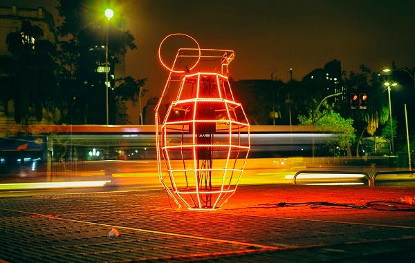 Instalação Granada MK1 do Bijari/ Crédito: Rubens Jr. Crispim