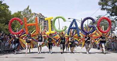 """The 49th annual Chicago Pride Parade is scheduled for Sunday, June 24, 2018 at noon. For parade information, tips, and for details related to events planned throughout the weekend"