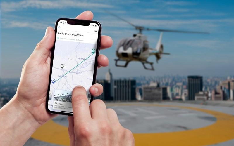 A plataforma de reservas para viagens compartilhadas de helicóptero celebra o feriado com voos especiais para a praia