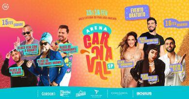 Cláudia Leitte, Ludmilla, Silva e Kevinho levam blocos carnavalescos à Arena Carnaval SP 2020