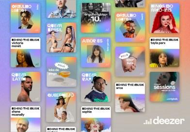 Novo canal do Deezer homenageia artistas e criadores LGBTQI+
