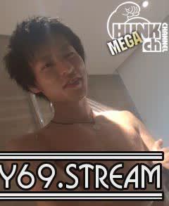 【HD】【BOY-036】スジ筋巨根の亮/RYO!風呂場でエロオナ!