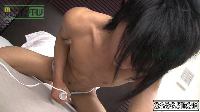 【HD】【MR-ON678】 草食系っぽい黒髪男子のプリケツ&若チ○コは超元気
