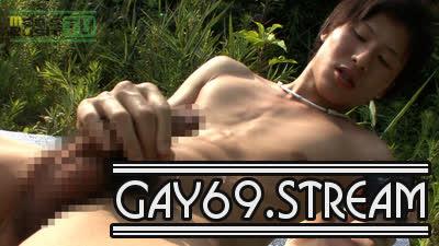 【HD】【MR-ON716】黒髪淫乱少年が野外で全裸でオナっちゃう☆