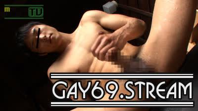 【HD】【MR-ON748】 大人気!上反りチ○ポの腹筋青年HIROKIが温泉でHOTオナニ〜♪