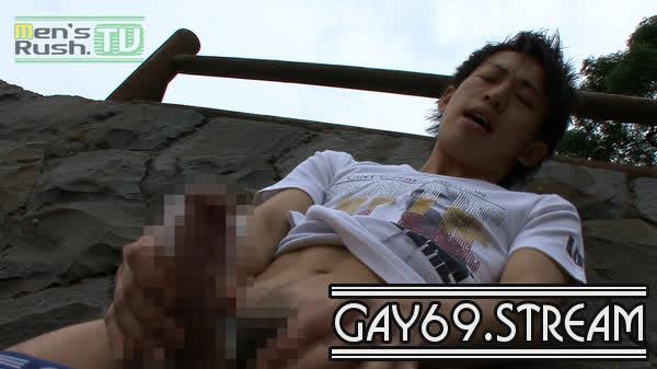 【MR-ON359】ジャニ系男子が海岸で大胆オナホオナニー☆