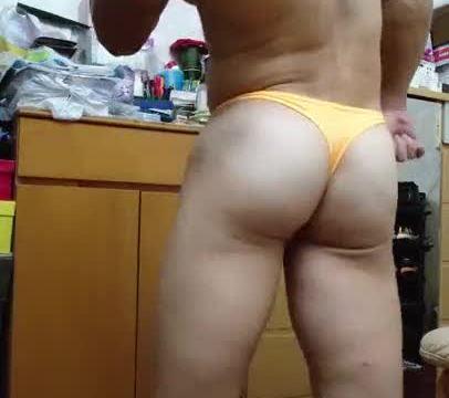 【HD】【Bodybuilder】 Flex Boner 02_190413
